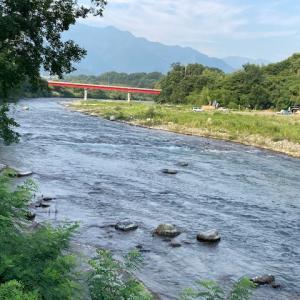 7月21日(水)荒川本流柳大橋の河川情報