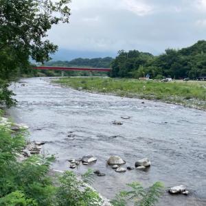 7月26日(月)荒川本流柳大橋の河川情報