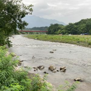7月27日(火)荒川本流柳大橋の河川情報