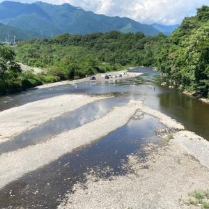 7月28日(水)荒川本流柳大橋の河川情報