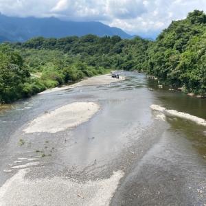 7月30日(金)荒川本流柳大橋の河川情報