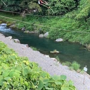 8月1日(日)秩父フライフィールドの河川情報
