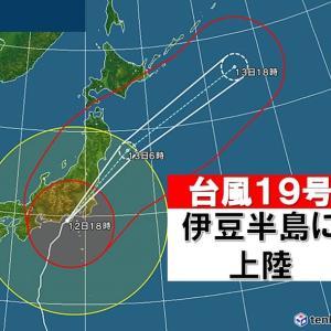 台風19号で多摩川が決壊