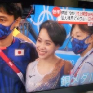 体操女子村上茉愛が57年振りのメダル獲得
