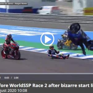 SBKスペインラウンド レース2