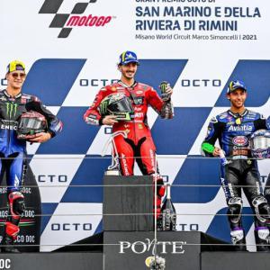 MotoGP ルーキータイトル争い ~サンマリノGP