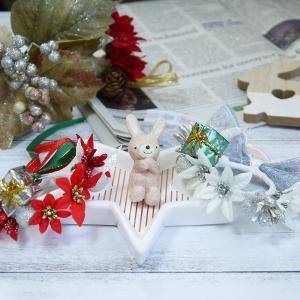 クリスマス花冠2点