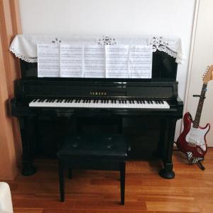 我が家のピアノ