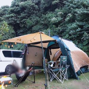 久しぶりに家族でキャンプ〜能登島家族村旅行村WEランド〜1日目