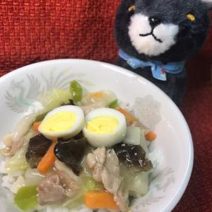 【私流わんちゃんレシピ】中華丼