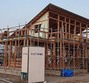 建て方&上棟式