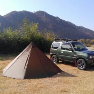 タイヤを積んでキャンプへGO!!