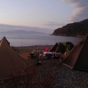 海の見えるキャンプ場 その3