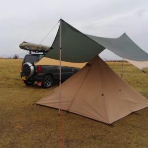 雨キャンにも慣れてきたキャンプ その1