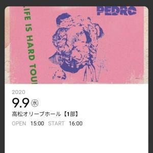 明日はPEDROのライブだぜぇ!!