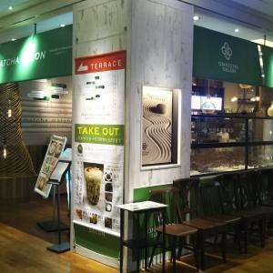 ■OMATCHA SALON 玉川高島屋S・C で 『厚切りベーコンのカルボナーラの茶そば』
