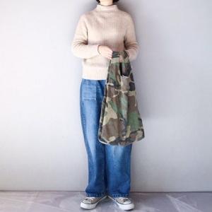■(着画)無印モックネックニット,ordinary fits JAMESパンツなど*今日の気になるものPICK UP■