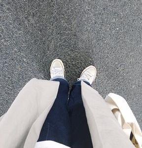 ■(着画)休日と詩サンサンコート,ordinary fits JAMES PANTS,GUアランニットなど*ポチっとしたもの*今日の気になるものPICK UP■