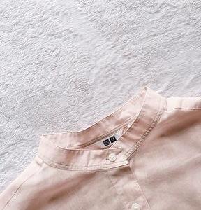 ■(写真)UNIQLOでお迎えしたシアーバンドカラーシャツ*ポチっとしたもの*お買物マラソンお得情報などいろいろ■