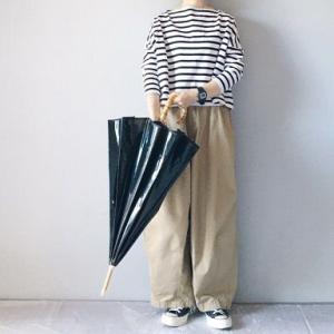 ■(着画)traditional weather wearボーダー&傘,needlesヒザデルパンツなど*今日の気になるものPICK UP■