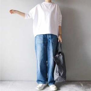 ■(着画)Linenyaテラヴェ7分袖白Tシャツ,ordinary fits JAMES PANTSなど*ポチっとしたもの*今日の気になるものPICK UP■