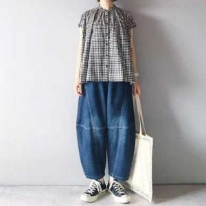 ■(着画)sanpoチェックシャツ&デニム*1000円送料無料商品*今日の気になるものPICK UP■