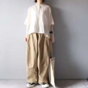 ■(着画)mizuiro ind 半袖シャツ,needles ヒザデルパンツなど*ポチっとしたもの*今日の気になるものPICK UP■