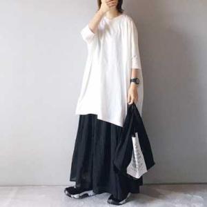 ■(着画)mizuiro-indビッグTシャツ,pongeeマキシ丈スカートなど*1000円送料無料商品*今日の気になるものPICK UP■