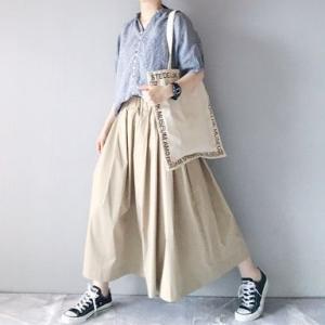 ■(着画)pongeeリネン半袖PO&タイプライタースカートなど*お買物マラソンお得情報いろいろ■