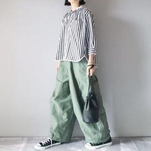 ■(着画)short cut for marksストライプシャツ,needlesヒザデルパンツ,renbagなど*今日の気になるものPICK UP■