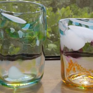 吹きガラスのグラスが 仕上がってきました✨