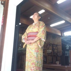御嵩町 商家竹屋〜暮らしの彩り展に〜自撮りのコツ