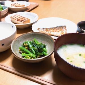 和食ごはんと、マスク不足。