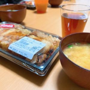 大きな海老天丼と、初花火。