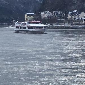 ライン河 冬