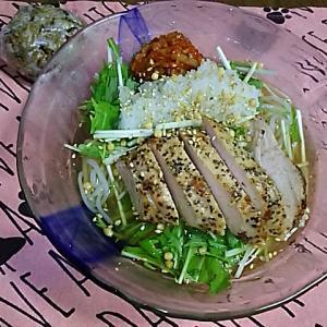 食事日記 冷麺。