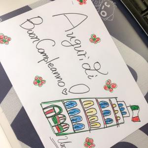 イタリア語で、誕生祝い!