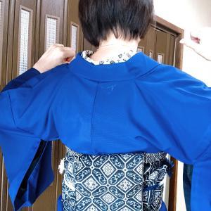 半巾帯で吉弥結び