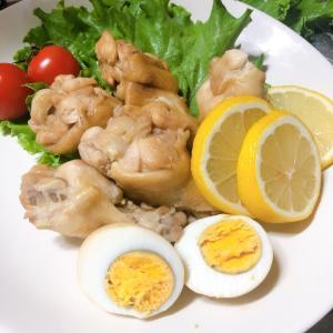 amway鍋で鶏肉の煮物