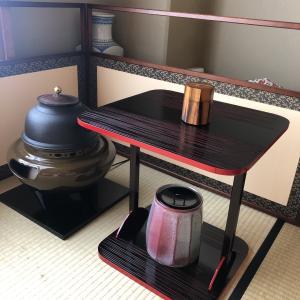 茶道(江戸千家)のレッスン、9月