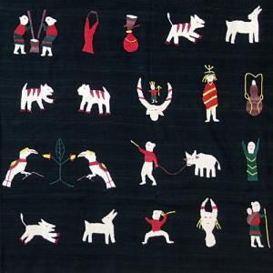 ナガ族手刺繍タペストリー入荷しています!