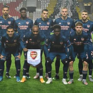 「The Arsenal」EL20-21 アーセナル v スラヴィア・プラハ