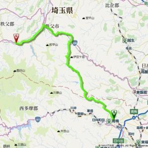 中津川林道ツーリング計画