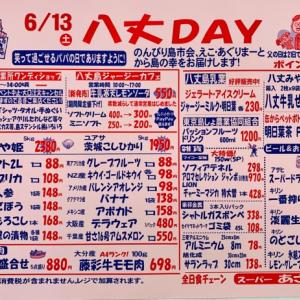 6月八丈DAY特別チラシ