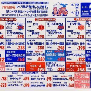 7月1日レジ袋有料化◆週末特売チラシ