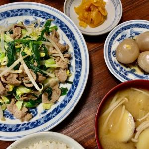 肉ニラ炒め定食◆自律神経と食事