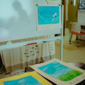 月1水彩画教室