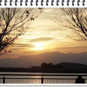 三池港の夕焼け