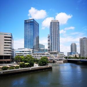 横浜散歩 横浜駅東口~みなとみらい~赤レンガ倉庫 2021-06-12