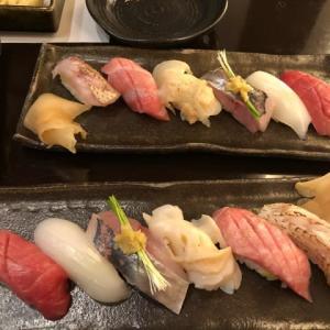 シンセン フグの白子焼、お寿司